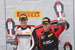 Race winners Marc Lieb, Patrick Long, Wright Motorsports
