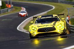 #47 Mercedes-AMG Team HTP Motorsport, Mercedes-AMG GT3: Sebastian Asch, Dominik Baumann, Stefan Mück