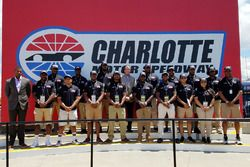 NASCAR Drive for Diversity Pit Crew group photo