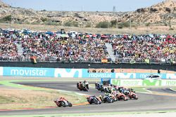 Jorge Lorenzo, Ducati Team, au départ