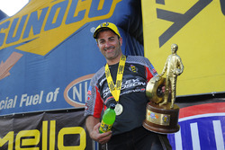 Pro Stock Motorcycle winner Eddie Krawiec