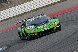 #63 GRT Grasser Racing Team, Lamborghini Huracán GT3: Rolf Ineichen, Christian Engelhart