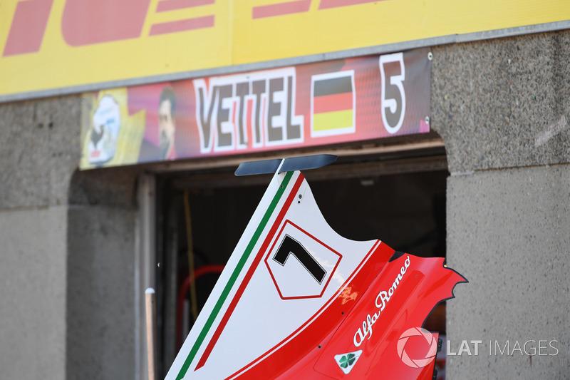 Аеродинамічний елемент Ferrari SF70H