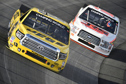 Cody Coughlin, ThorSport Racing, Toyota; Austin Hill, JRS, Ford
