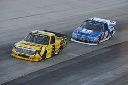 Cody Coughlin, ThorSport Racing, Toyota; Austin Cindric, Brad Keselowski Racing, Ford