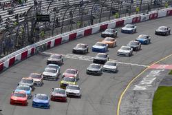 Justin Allgaier, JR Motorsports, Chevrolet; Kyle Larson, Chip Ganassi Racing, Chevrolet