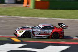Mercedes AMG-S.GT3 #22, Kripton Motorsport: Pezzucchi-Pastorelli