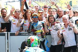 Race winnaar Franco Morbidelli, Marc VDS