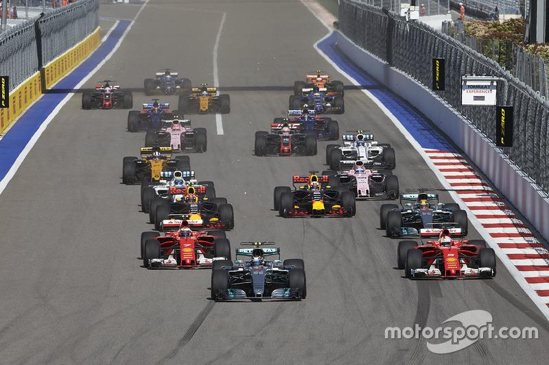 Gewinner: Die Formel 1 2017