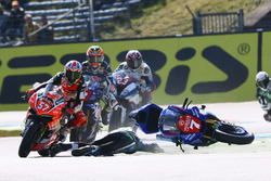 Marvin Fritz, Bayer-Bikerbox Yamaichi crash