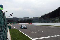 Podio: Ganador de la carrera Stefano Comini, Comtoyou Racing, Audi RS3 LMS