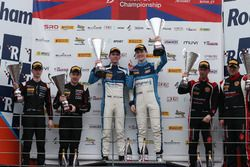 GT4 Podium, Stuart Middleton, William Tregurtha, HHC Motorsport, Ginetta G55 GT4 wins