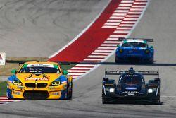 #10 Wayne Taylor Racing Cadillac DPi: Ricky Taylor, Jordan Taylor, #96 Turner Motorsport BMW M6 GT3: