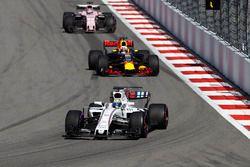 Felipe Massa, Williams FW40, Daniel Ricciardo, Red Bull Racing RB13, Sergio Perez, Sahara Force Indi