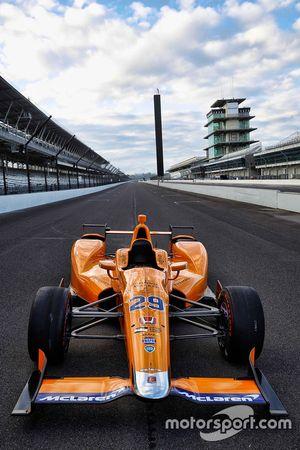 Auto von Fernando Alonso, Andretti Autosport, Honda