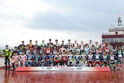 Grup foto pembalap Moto3 Junior World Championship