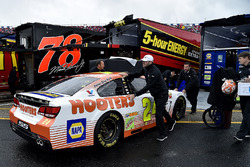 The car of Chase Elliott, Hendrick Motorsports Chevrolet