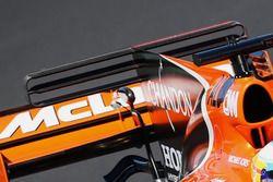 McLaren MCL32, achtervleugel