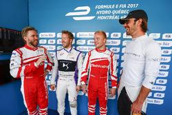 Ник Хайдфельд, Mahindra Racing, Сэм Бёрд, DS Virgin Racing, Феликс Розенквист, Mahindra Racing, Жан-