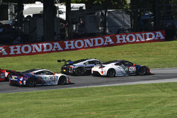 #43 RealTime Racing Acura NSX GT3: Ryan Eversley, #93 RealTime Racing Acura NSX GT3: Peter Kox
