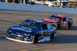 Brennan Poole, Chip Ganassi Racing Chevrolet e Matt Tifft, Joe Gibbs Racing Toyota