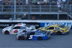 Kasey Kahne, Hendrick Motorsports Chevrolet Trevor Bayne, Roush Fenway Racing Ford