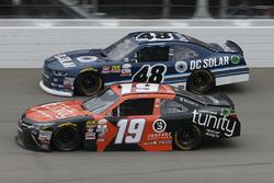 Matt Tifft, Joe Gibbs Racing Toyota Brennan Poole, Chip Ganassi Racing Chevrolet