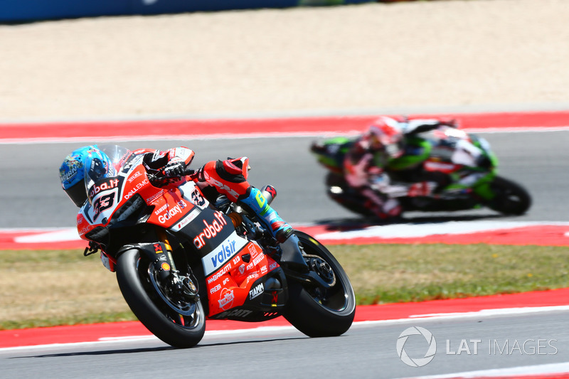 Marco Melandri, Ducati Team, Jonathan Rea, Kawasaki Racing