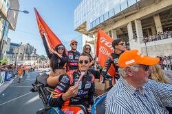 Гонщики G-Drive Racing Роман Русинов, Пьер Тирье и Алекс Линн