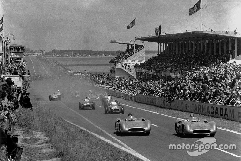 1954 Juan Manuel Fangio, Mercedes-Benz W 196 R