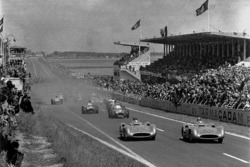 Karl Kling e Juan Manuel Fangio, Mercedes-Benz W 196 R