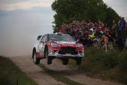 Stéphane Lefebvre, Gabin Moreau, Citroën DS3 WRC, Abu Dhabi Total World Rally Team