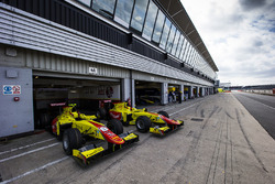 Cars of Sean Gelael, Campos Racing and Mitch Evans, Campos Racing
