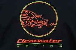 Detalle de logo Clearwater Racing