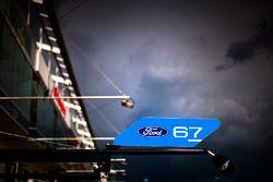 #67 Ford Chip Ganassi Racing Team UK Ford GT garage