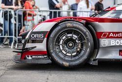 Audi Sport Team Joest Audi R18 e-tron quattro wheel detail