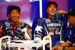 #21 Yamaha Factory Racing Team: Katsuyuki Nakasuga, Alex Lowes