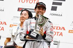 Podium: winner Joao Paulo de Oliveira, Team Impul