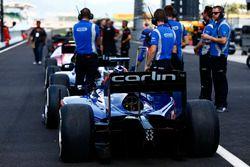 The car of Sergio Canamasas, Carlin