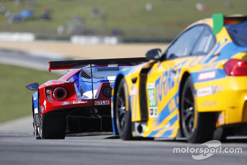 #66 Ford Performance Chip Ganassi Racing, Ford GT: Joey Hand, Dirk Müller, Sébastien Bourdais; #97 T