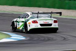 #8 Bentley Team ABT, Bentley Continental GT3: Fabian Hamprecht, Christer Jöns.