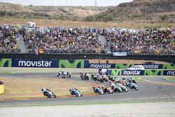 Enea Bastianini, Gresini Racing Team Moto3, race start
