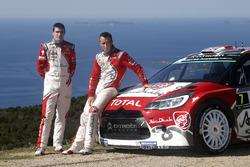 Kris Meeke et Craig Breen, Citroën DS3 WRC, Abu Dhabi Total World Rally Team