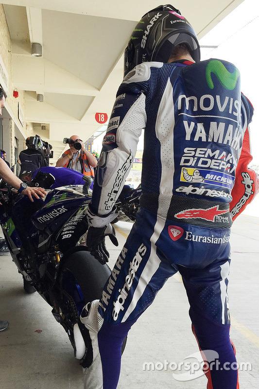 Jorge Lorenzo, Yamaha Factory Racing controlla la gomma