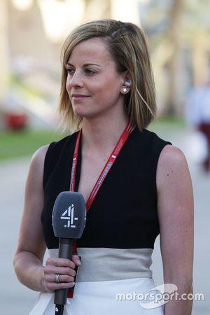Сьюзи Вольф, эксперт и аналитик Channel 4