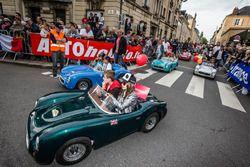 Desfile de Mini autos