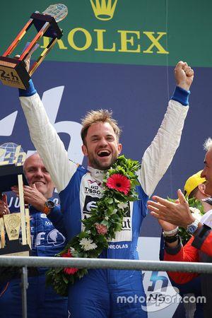 LMP2 podium: ganadores de la clase #36 Signatech Alpine A460: Nicolas Lapierre