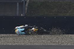 Gabriel Rodrigo, RBA Racing Team crash