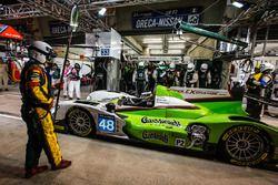 Pit stop for #48 Murphy Prototypes Oreca 03R Nissan: Ben Keating, Jeroen Bleekemolen, Marc Goossens