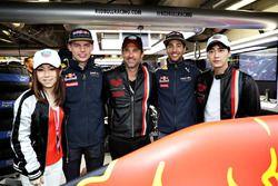 Max Verstappen, Red Bull Racing, Daniel Ricciardo, Red Bull Racing, Chinese singer, G.E.M., Chinese